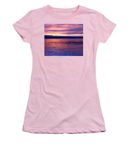 Dawn Patrol Women's T-Shirt (Junior Cut) by Lora Lee Chapman