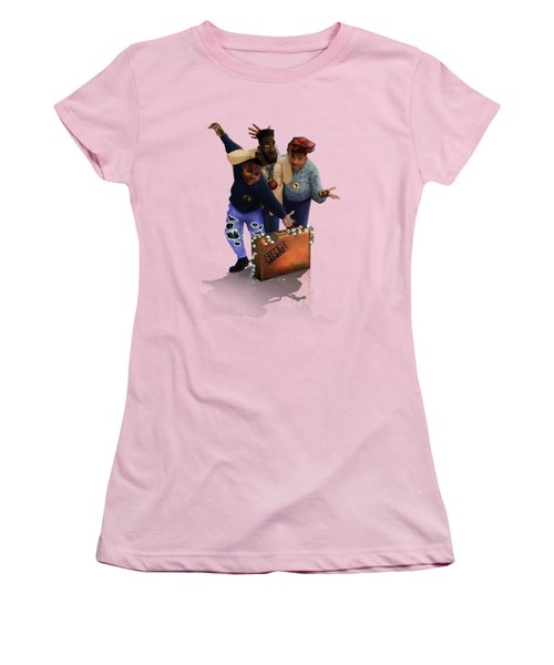 De La Soul Women's T-Shirt (Junior Cut) by Nelson  Dedos Garcia