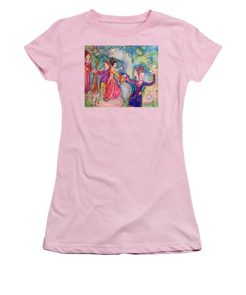 Delightful Company  Women's T-Shirt (Junior Cut) by Judith Desrosiers