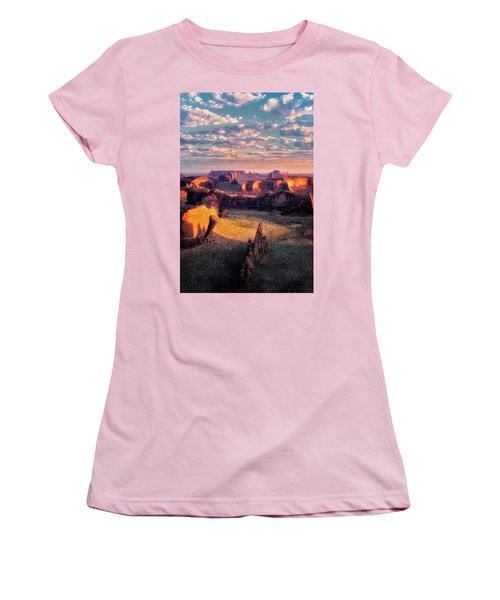 Desert Glow   Women's T-Shirt (Junior Cut) by Nicki Frates