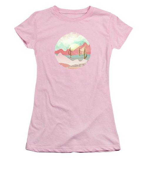Desert Mountains Women's T-Shirt (Athletic Fit)