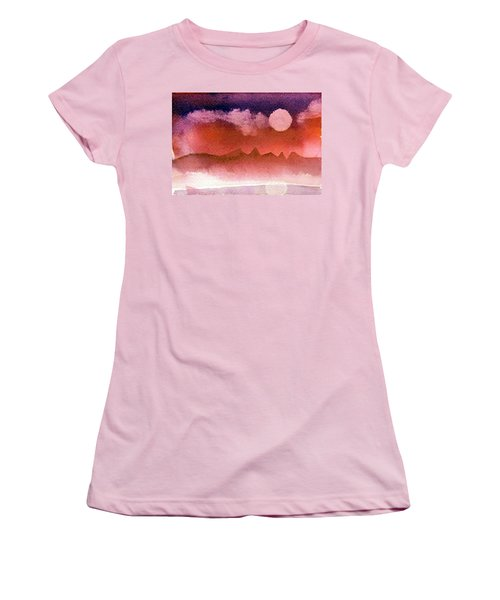 Desert Reflection Women's T-Shirt (Athletic Fit)