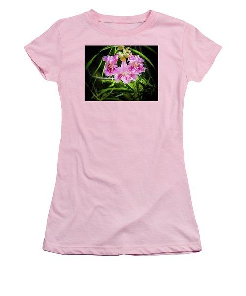 Women's T-Shirt (Junior Cut) featuring the photograph Desert Willow by Penny Lisowski