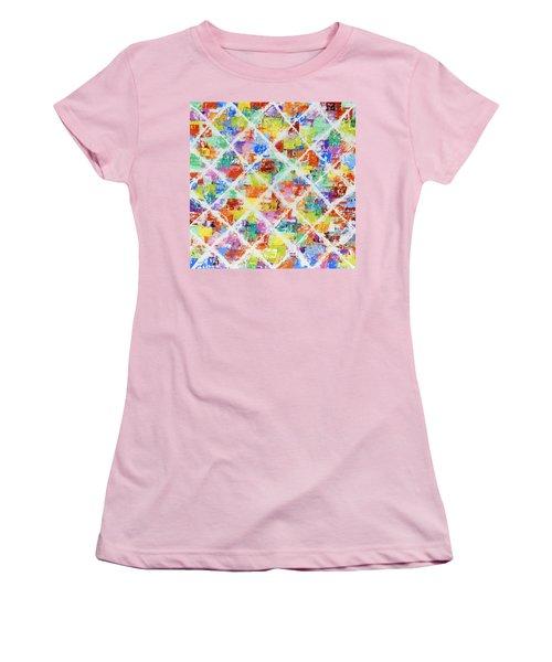 Diamonds Women's T-Shirt (Athletic Fit)