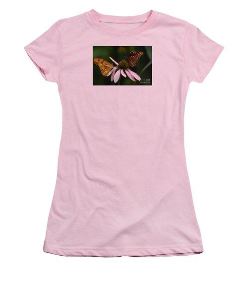 Dinner Date Women's T-Shirt (Junior Cut) by Cindy Manero
