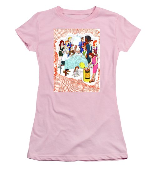Dinner Party Women's T-Shirt (Athletic Fit)
