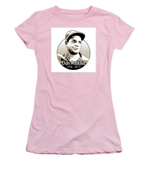 Don Rickles Women's T-Shirt (Junior Cut) by Greg Joens