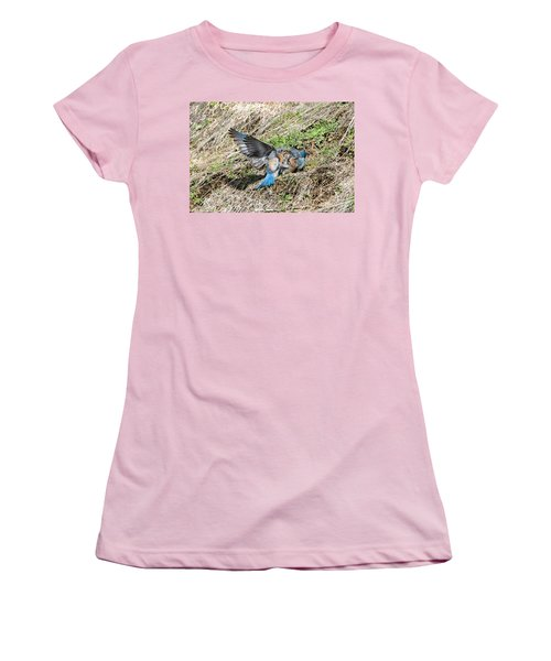 Women's T-Shirt (Junior Cut) featuring the photograph Down For The Count by Mike Dawson