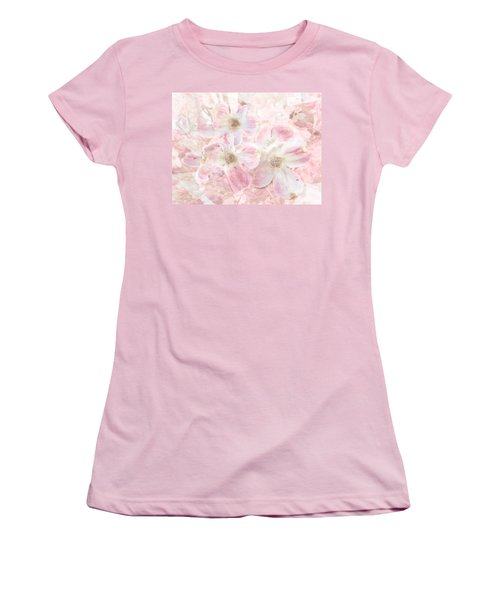 Dreaming Pink Women's T-Shirt (Junior Cut) by Arlene Carmel