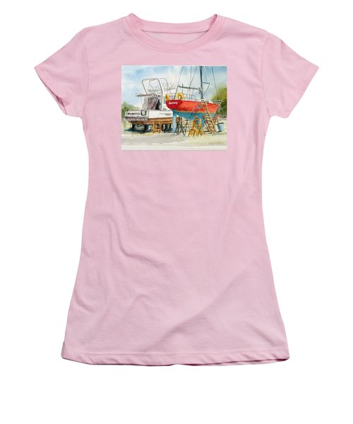 Dry Dock Women's T-Shirt (Athletic Fit)