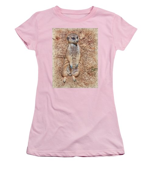 Women's T-Shirt (Athletic Fit) featuring the photograph Earth Manikin by Hanny Heim