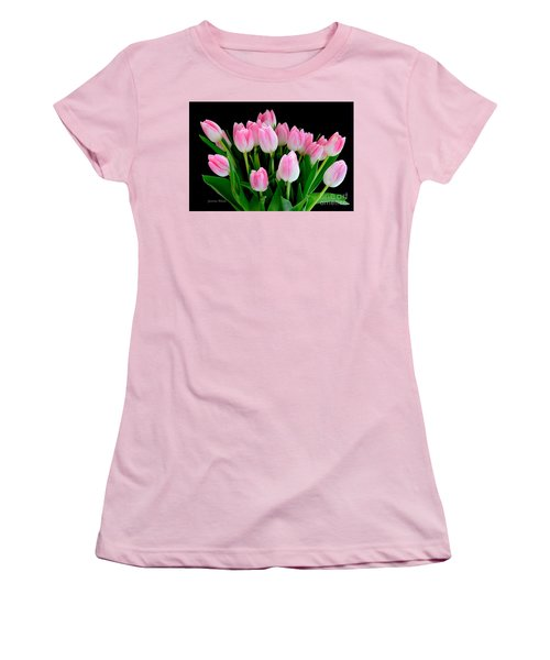 Easter Tulips  Women's T-Shirt (Athletic Fit)