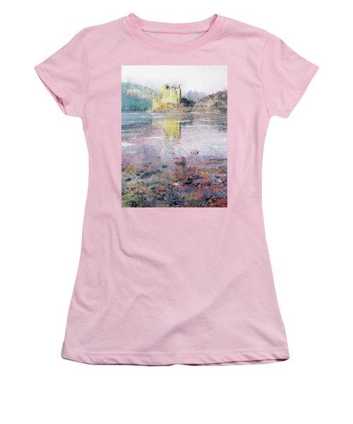 Eilean Donan Castle  Women's T-Shirt (Junior Cut) by Richard James Digance