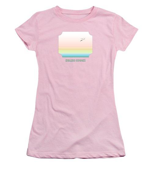 Endless Summer - Pink Women's T-Shirt (Junior Cut) by Gill Billington