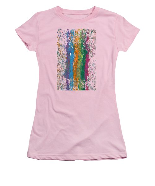 Exclamations 2 Women's T-Shirt (Junior Cut) by Lori Kingston