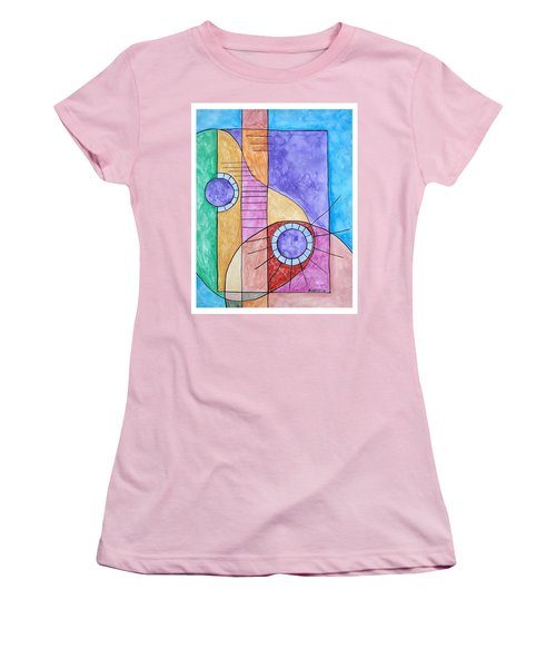 Fade Out Women's T-Shirt (Athletic Fit)