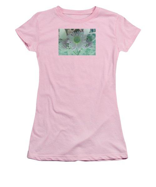 Fantasy Garden Women's T-Shirt (Junior Cut) by Barbie Corbett-Newmin