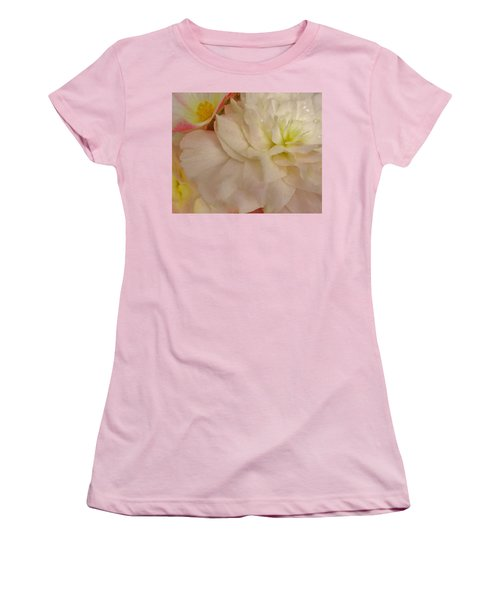 Floral Harmony Women's T-Shirt (Athletic Fit)