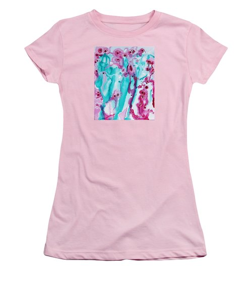 Flower Dance Women's T-Shirt (Athletic Fit)