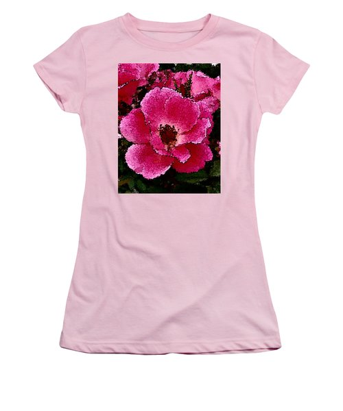 Flower Painting Collection 19 Women's T-Shirt (Athletic Fit)