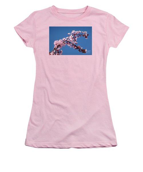 Flowering Of The Plum Tree 4 Women's T-Shirt (Junior Cut) by Jean Bernard Roussilhe
