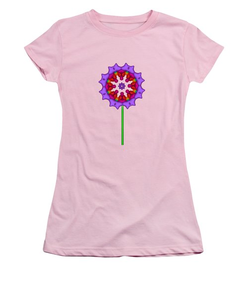 Fractal Flower Garden Flower 02 Women's T-Shirt (Athletic Fit)