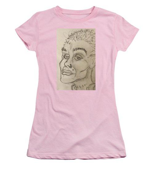 Frankenstein's Neighbor's Roommate's Girlfriend's Sister  Women's T-Shirt (Athletic Fit)