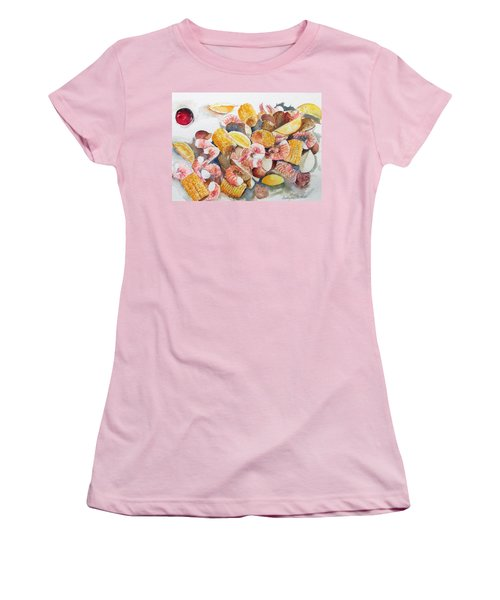 Fresh Boiled Women's T-Shirt (Athletic Fit)