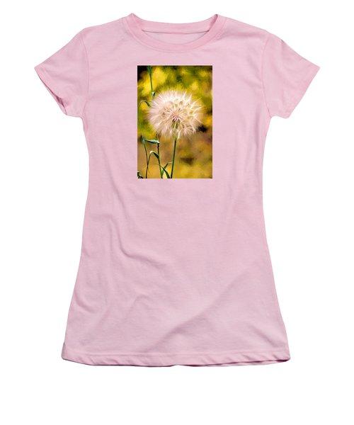 Women's T-Shirt (Junior Cut) featuring the digital art Frozen In Time by James Steele
