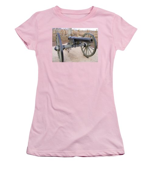 Gettysburg Cannon Women's T-Shirt (Athletic Fit)