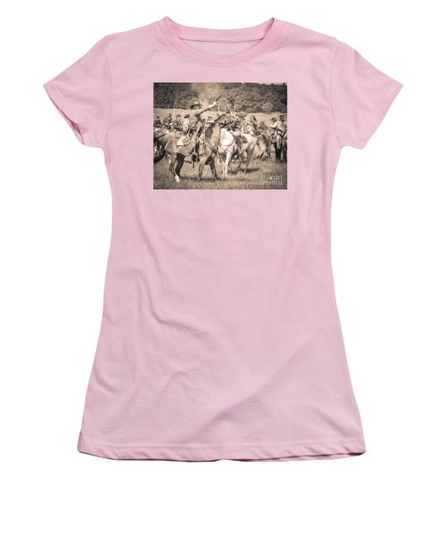 Gettysburg  Union Cavalry 7920s  Women's T-Shirt (Athletic Fit)