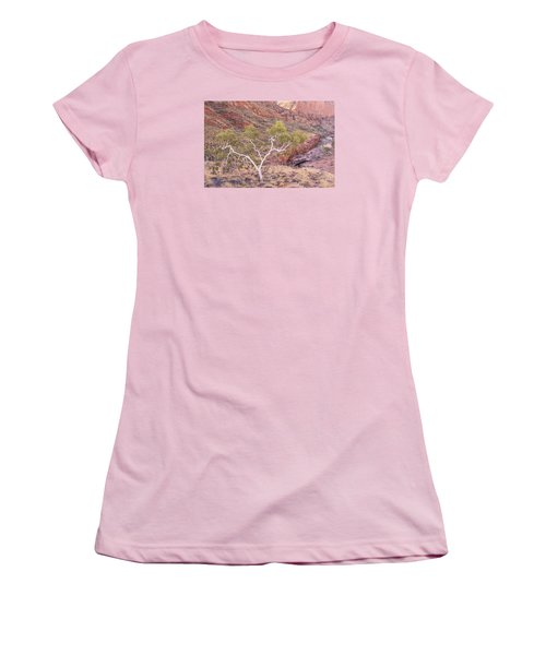 Ghost Gum Women's T-Shirt (Junior Cut) by Racheal  Christian