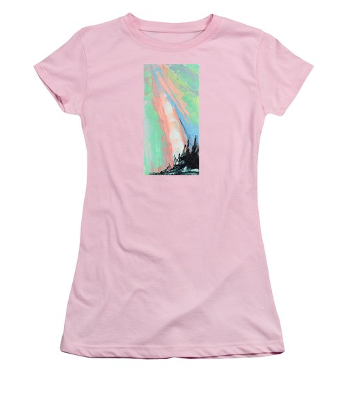 Glory Women's T-Shirt (Junior Cut) by Nathan Rhoads
