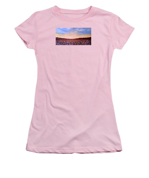 Glory Of Cotton Women's T-Shirt (Junior Cut) by Jeanette Jarmon