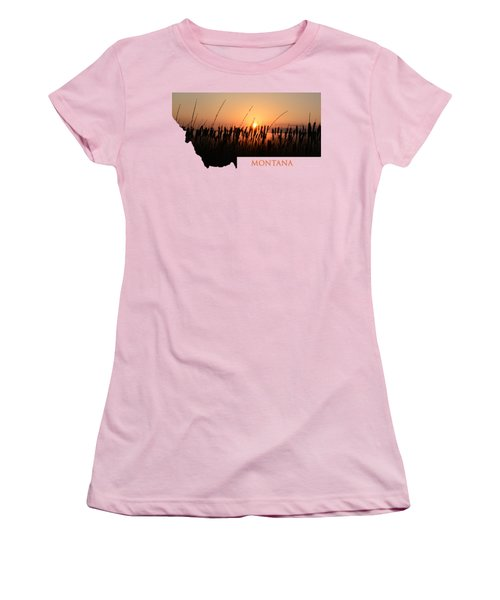 Good Morning Montana Women's T-Shirt (Athletic Fit)