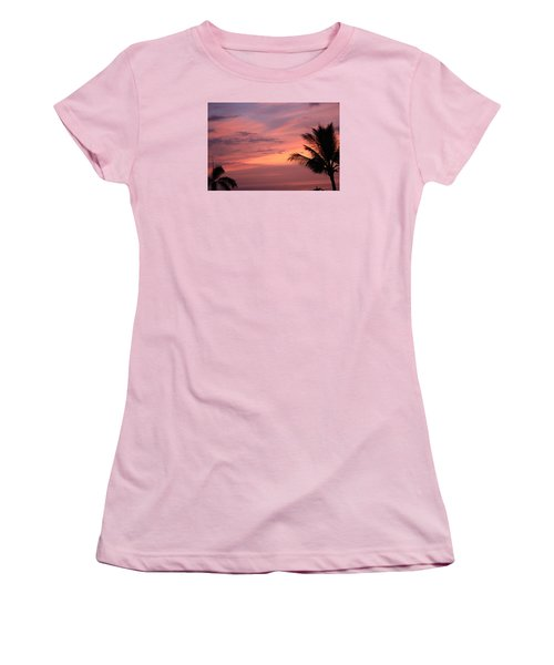 Gorgeous Hawaiian Sunset - 3 Women's T-Shirt (Junior Cut) by Karen Nicholson