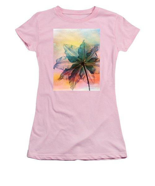Women's T-Shirt (Junior Cut) featuring the digital art Gracefulness by Klara Acel