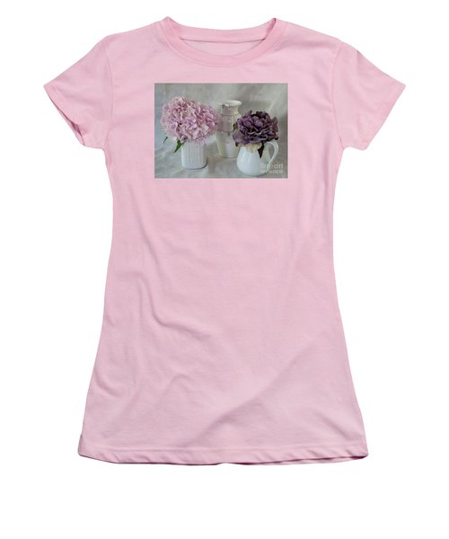 Women's T-Shirt (Junior Cut) featuring the photograph Grandmother's Vanity Top by Sherry Hallemeier