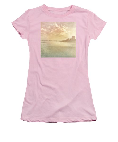 Hazy Day At The Beach Women's T-Shirt (Athletic Fit)