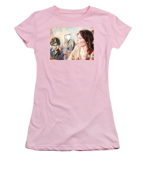 Honeyhoney Band Women's T-Shirt (Athletic Fit)