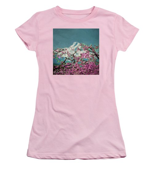 Hood Blossoms Women's T-Shirt (Athletic Fit)