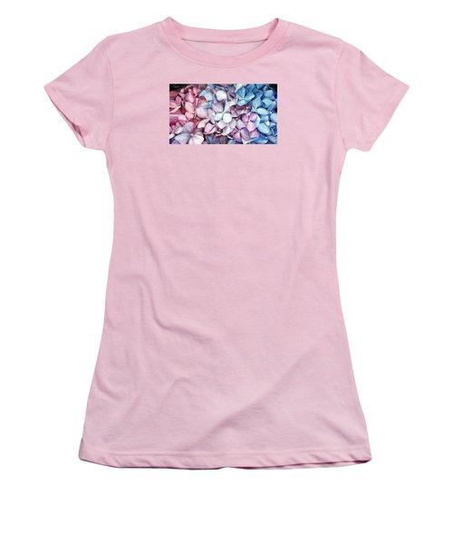 Hortensias Women's T-Shirt (Athletic Fit)