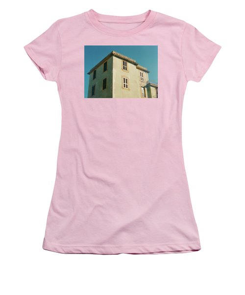 House In Ostia Beach, Rome Women's T-Shirt (Athletic Fit)