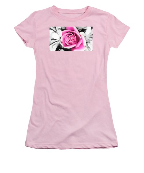Hypnotic Pink 2 Women's T-Shirt (Athletic Fit)