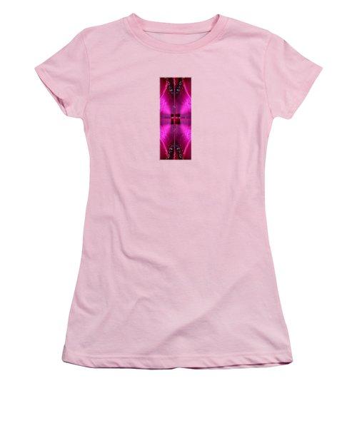 I II IIi Alpha Art On Shirts Alphabets Initials   Shirts Jersey T-shirts V-neck By Navinjoshi Women's T-Shirt (Junior Cut) by Navin Joshi