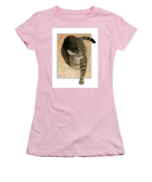 I Was Here First, Ok? Women's T-Shirt (Junior Cut) by Mariarosa Rockefeller