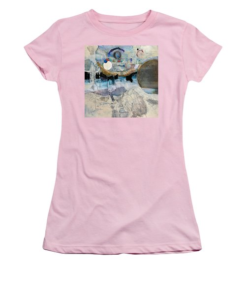 Icy Moon Women's T-Shirt (Athletic Fit)