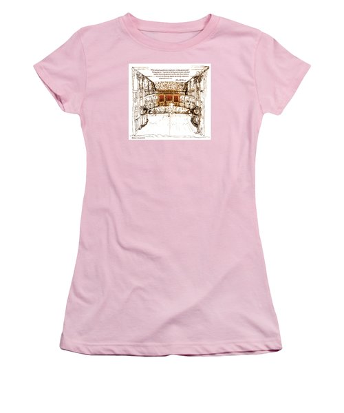 Imaginitive Genius V3 Women's T-Shirt (Athletic Fit)