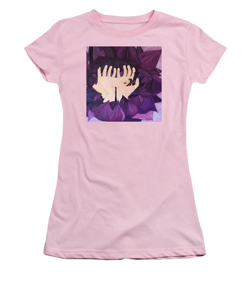In Loving Hands Women's T-Shirt (Junior Cut) by Cheryl Bailey