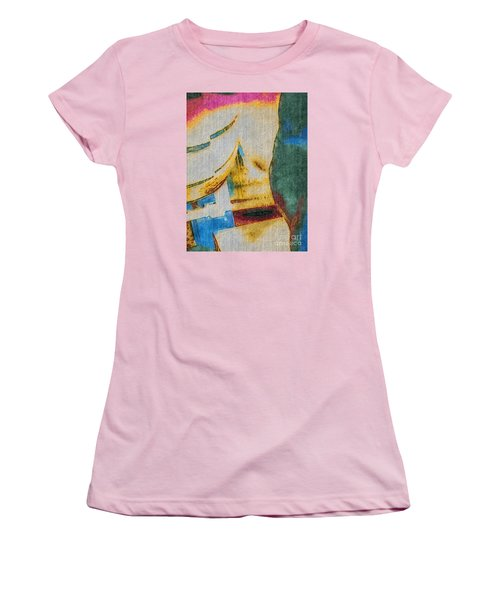 Women's T-Shirt (Junior Cut) featuring the photograph In/still by William Wyckoff